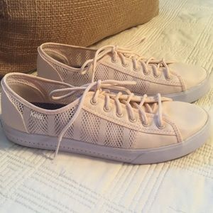 Keds Perforated Sneakers in Light Pink